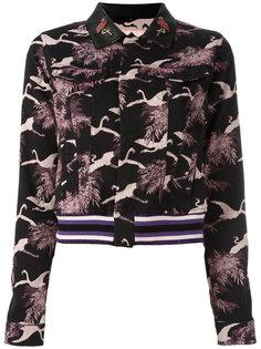 укороченная жаккардовая куртка Giamba