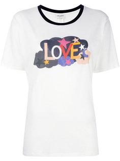 футболка Love Saint Laurent