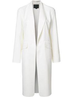 пальто с воротником-шалька Alexander Wang