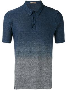 рубашка-поло с эффектом градиента Nuur