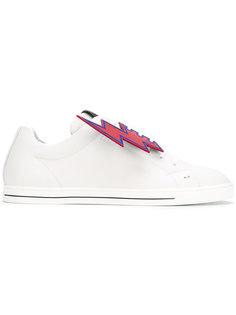 кроссовки с принтом Fendi