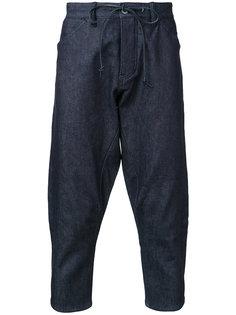 укороченные джинсы Kazuyuki Kumagai