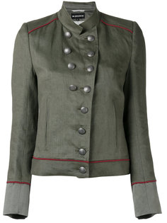 куртка в стиле милитари с воротником-стойка Ann Demeulemeester