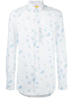 рубашка с узором Journal