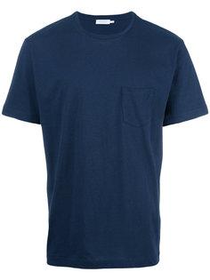 футболка с карманом Sunspel