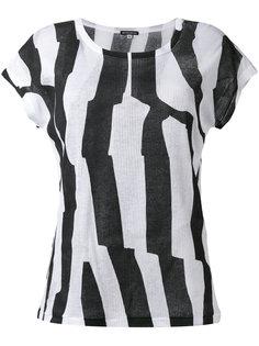 футболка с принтом Ann Demeulemeester
