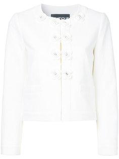 пиджак с декоративными пуговицами Boutique Moschino