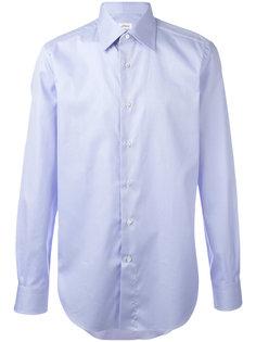 однотонная рубашка Brioni