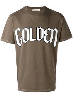 футболка с принтом Golden Goose Deluxe Brand