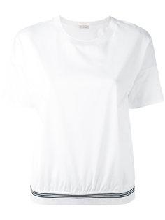 футболка с логотипом на рукаве Moncler