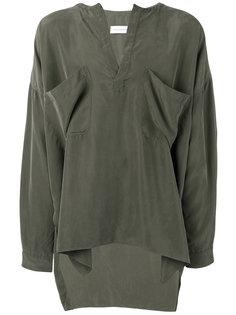 объемная рубашка с нагрудными карманами Faith Connexion
