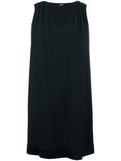 платье с V-образным вырезом Jil Sander Navy