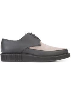 туфли Дерби с контрастной панелью Lanvin