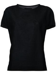 футболка с круглым вырезом  Lemaire
