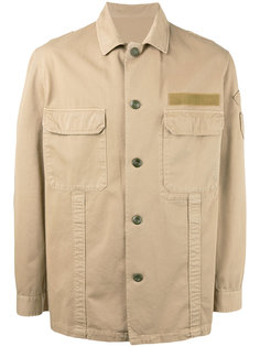 рубашка в стиле милитари Golden Goose Deluxe Brand