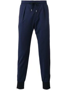 брюки с присборенными щиколотками Paul Smith London