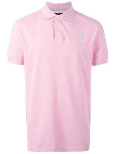 рубашка-поло с вышитым логотипом Hackett
