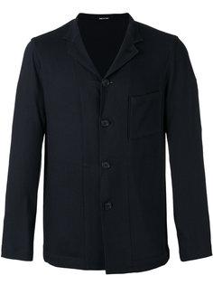 куртка рубашечного типа с карманом Giorgio Armani