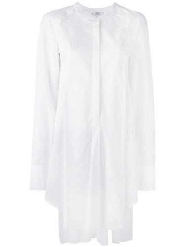 удлиненная рубашка с плиссировкой Io Ivana Omazic
