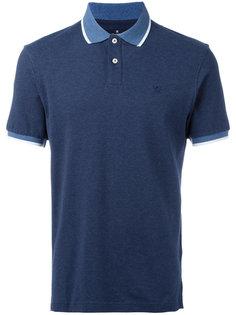 рубашка-поло с контрастной отделкой Hackett