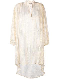 удлиненная рубашка с отделкой металлик Mes Demoiselles