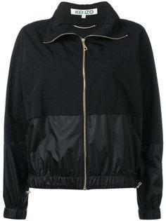байкерская куртка с логотипом  Kenzo