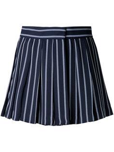 шорты в полоску с завышенной талией  Mikio Sakabe