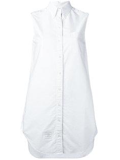 рубашка-туника без рукавов Thom Browne