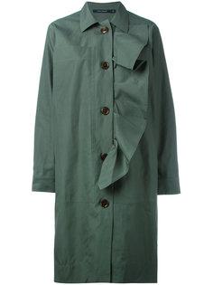 пальто на пуговицах с оборками  Sofie Dhoore