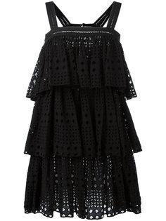 многослойное платье Plein Sud
