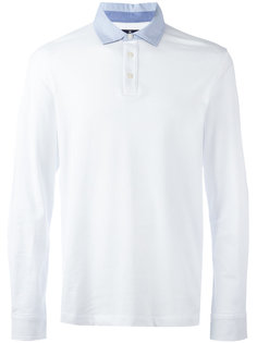 рубашка-поло с длинными рукавами Hackett