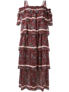 платье со спущенной линией плеч Rossella Jardini
