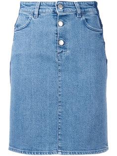 приталенная джинсовая юбка Closed
