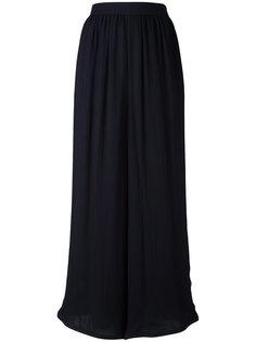 прозрачные широкие брюки Giorgio Armani