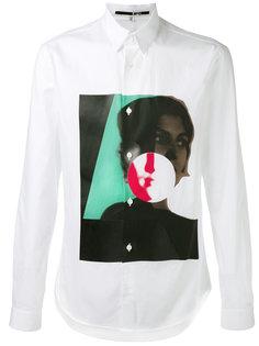 рубашка с графическим принтом  McQ Alexander McQueen