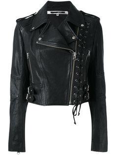 байкерская куртка с люверсами McQ Alexander McQueen