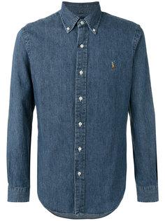 джинсовая рубашка кроя слим Polo Ralph Lauren