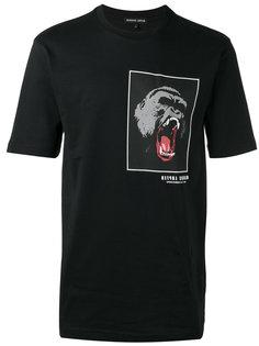 футболка с нашивкой гориллы Markus Lupfer
