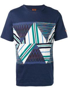 футболка с принтом зигзаг Missoni