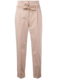 прямые брюки с поясом  Alberta Ferretti