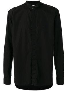 рубашка с отрезным воротником Saint Laurent