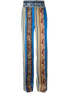 брюки-палаццо с принтом  Etro