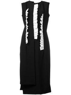 платье мини с оборками Comme Des Garçons