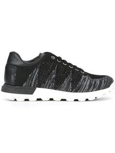 кроссовки на шнуровке Pollini