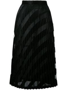 плиссированная юбка миди Off-White