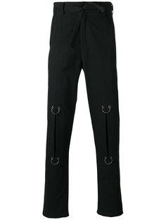 брюки с аппликацией колец Damir Doma