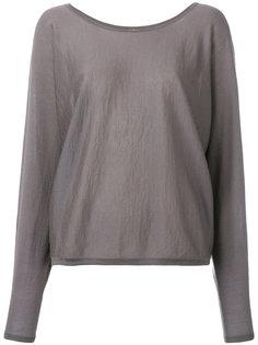 cashmere super fine batwing jumper N.Peal