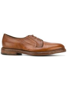 туфли Boyd Cognac Dip на шнуровке Paul Smith