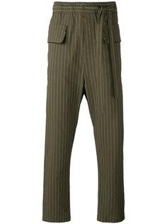 брюки в полоску Damir Doma