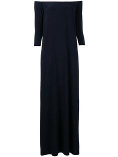 платье шифт с открытыми плечами Norma Kamali